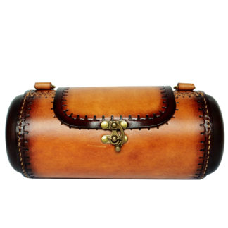 Barrel Leather Bag